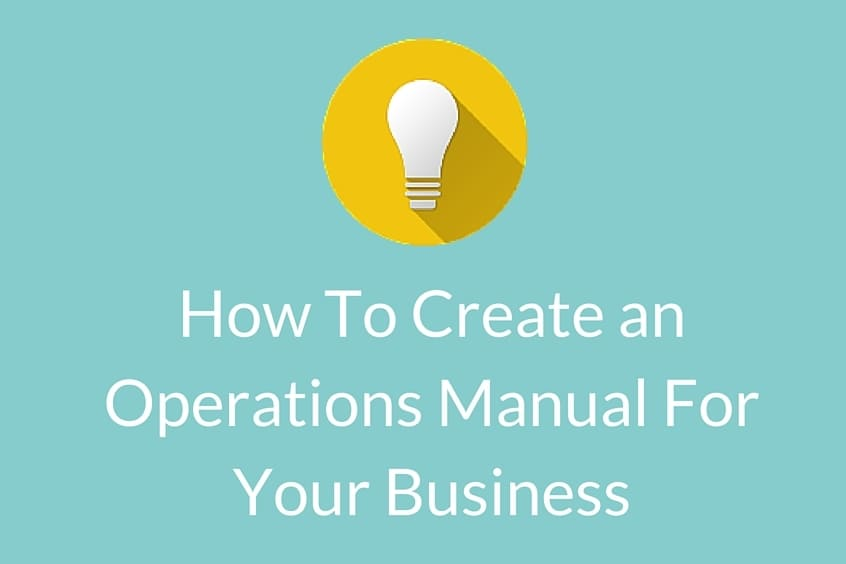 How To Create An Operations Manual For Your Business  Bug Media