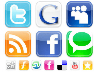 using social sharing buttons on your website