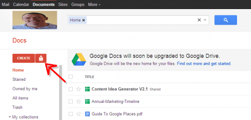google drive-the small business playbook