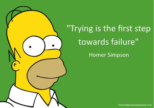 Home Simpson motivation quotes