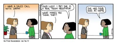 comic strip negotiating