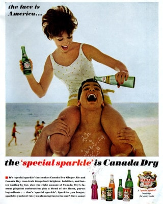 Canada dry classic ad