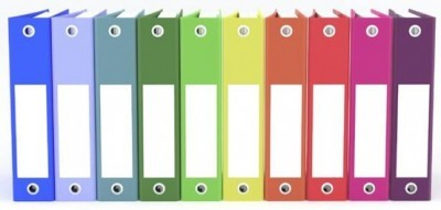 organize operations manual with binders