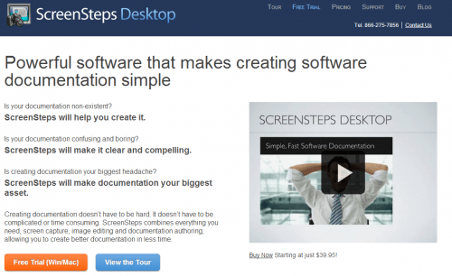 Use Screen Steps to create an operations maual