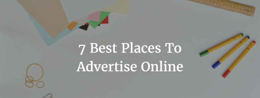 Best PLaces To Advertise Online