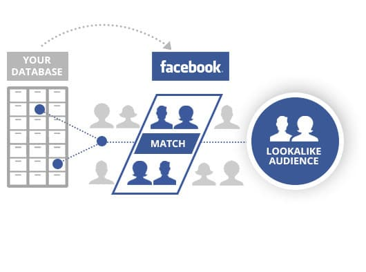 Facebook Lookalike Audience Infographic