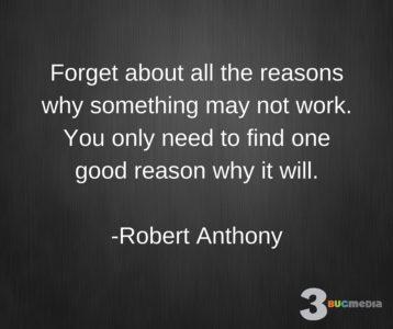 Robert Anthony Quote