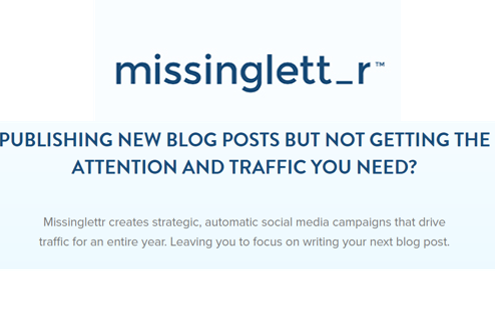 Review of Missinglettr Social Media Software