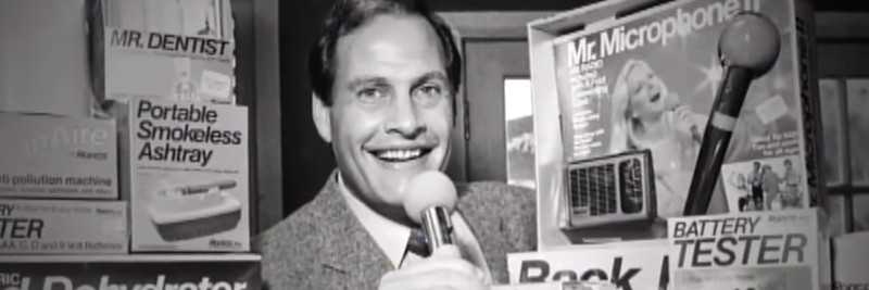 Ron Popeil Expert Salesman and Inventor