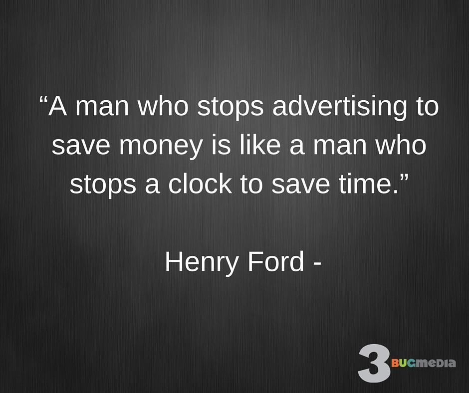 Henry Ford Quote on Marketing