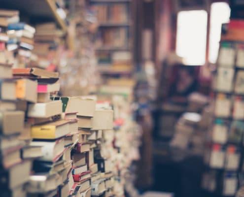 Antique Book Store Image Free
