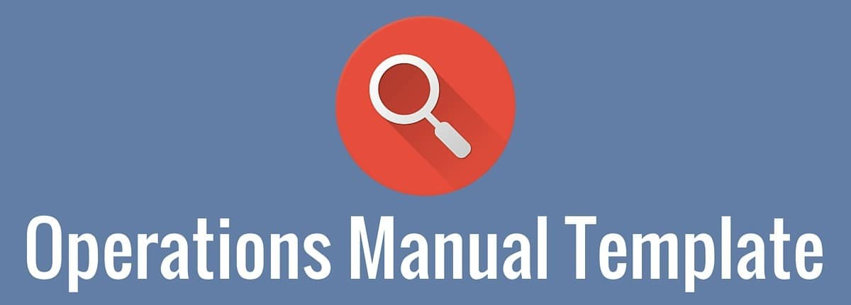 operations manual template 3bug media